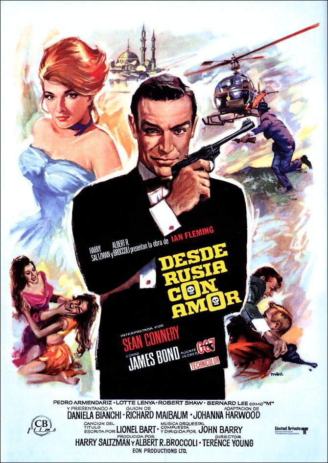 DESDE RUSIA CON AMOR (1963) [BLURAY 720P X264 MKV][AC3 5.1 CASTELLANO] torrent
